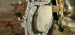 Trancheuse TRS 1150 avec équipement étroit